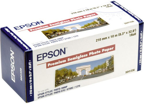 EPSON Premium Semigl. Photo Paper role 210mmx10m