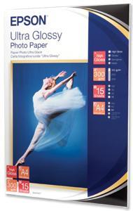 EPSON Ultra Glossy Photo Paper A4,300g (15listů)