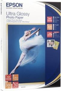 EPSON Ultra Glossy Photo Paper 10x15,300g(50listů)