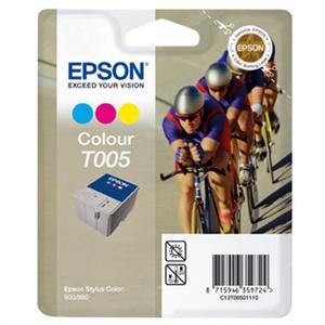 EPSON Ink ctrg barevná pro SC900/N/980/N, T005