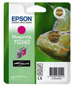 EPSON Ink ctrg magenta pro Stylu Photo 2100(T0343) - obr.1
