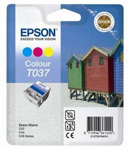 EPSON Ink ctrg barevná pro Stylus C42UX/SX(T0370)