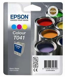 EPSON Ink ctrg barevná proStylus C62/CX3200(T0410)