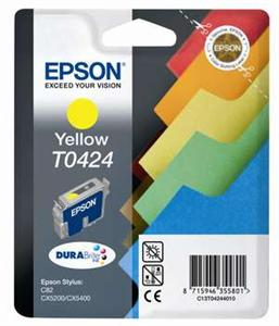 EPSON Ink ctrg yellow Stylus C82/CX5200/CX5400 T0424