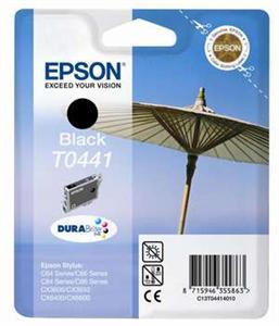 EPSON černá C64/C66/C84/C86/CX3650/CX6400 Standard T0441 DURABrite