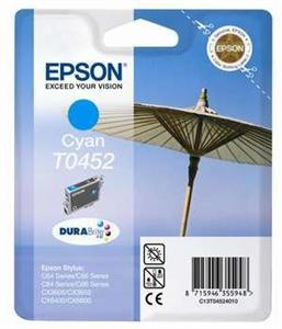 EPSON cyan C64/C66/C84/C86/CX3650/CX6400(T0452)