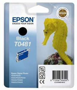 EPSON Ink ctrg černá proRX500/RX600/R300/R200 T0481