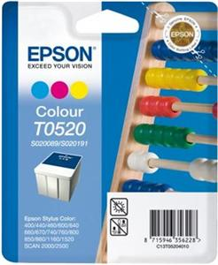 EPSON Ink ctrg SC4*0/6*0/7*0/8*0/1160/1520 T0520