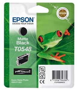 EPSON SP R800 Matte Black Ink Cartridge T0548