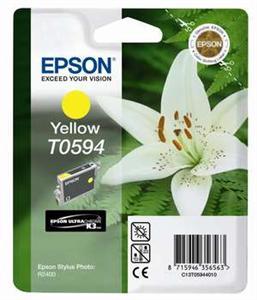 EPSON Ink ctrg žlutá pro R2400 T0594