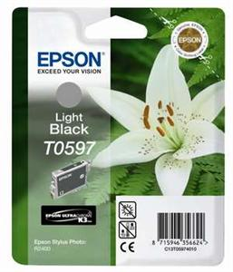 EPSON Ink ctrg light black pro R2400 T0597