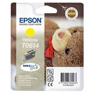 EPSON Ink žlutý pro Stylus D68/D88/DX3850/DX4850 T0614 DURABrite