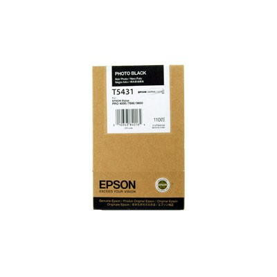 Epson T543 Photo Black Ink Cartridge (110ml)