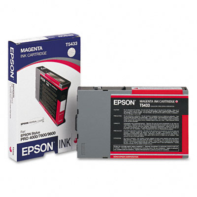 Epson T543 Magenta Ink Cartridge (110ml)