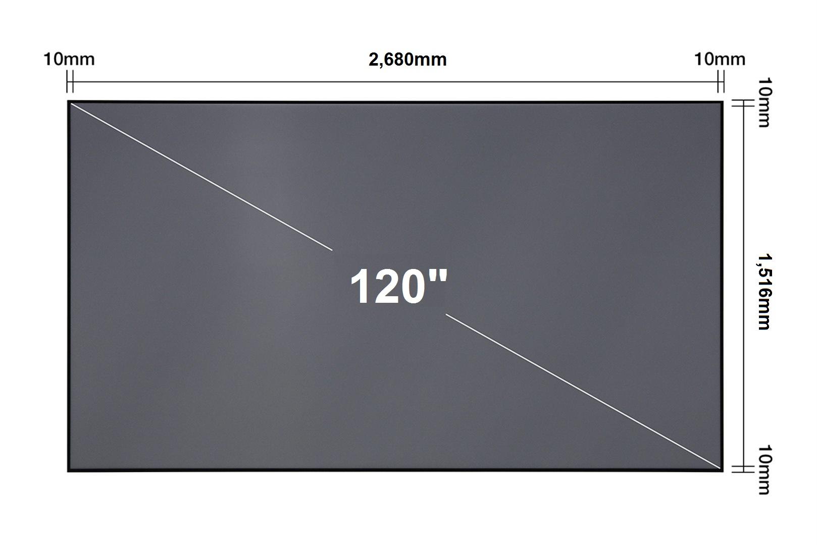 Epson plátno Laser TV 120'' Screen - ELPSC36 - V12H002AG0
