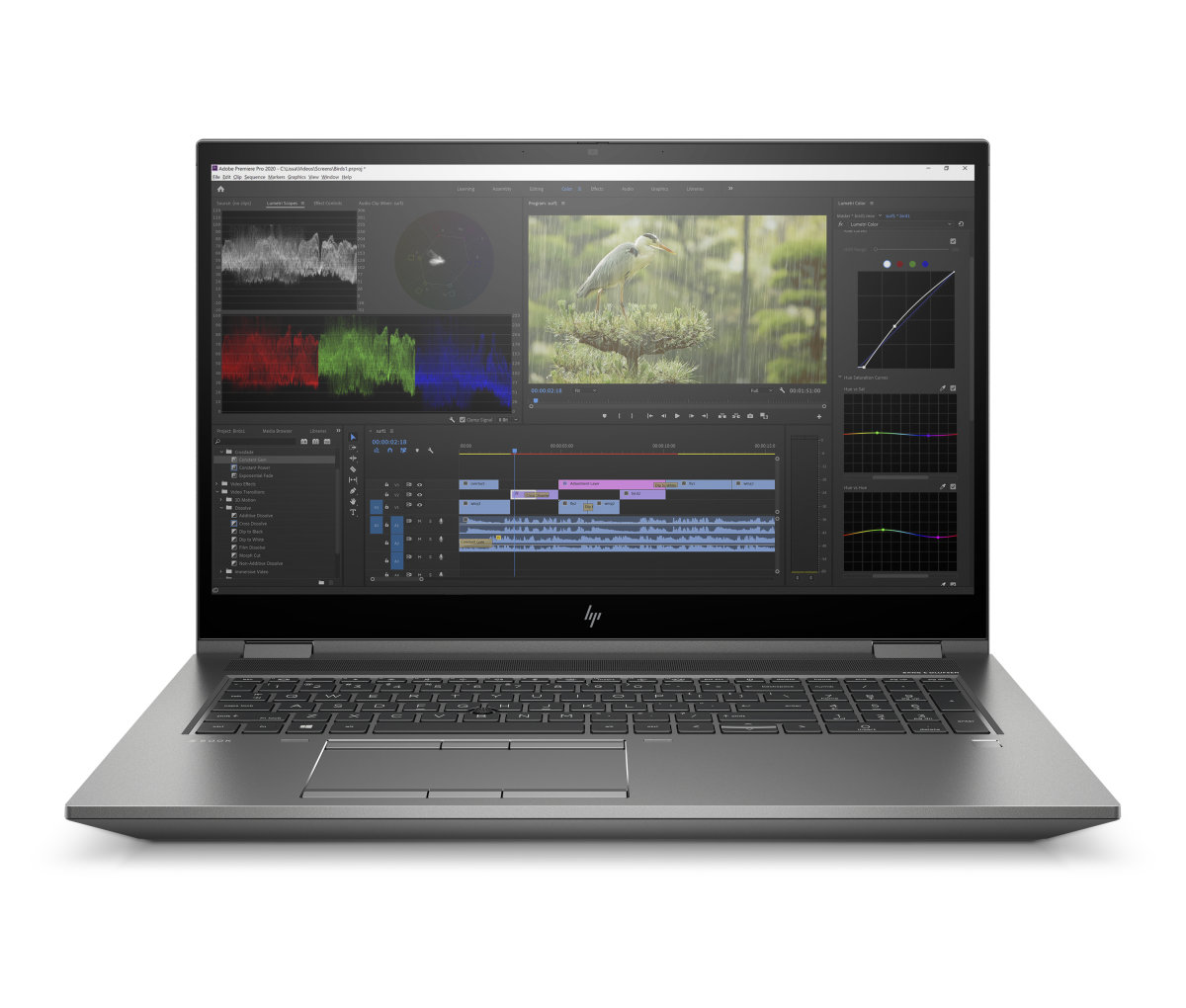 HP ZBook Fury 17 G7 17,3'' UHD 550nts i7-10750H/32GB/1TB PCIe/NVIDIA® Quadro® T2000-4GB/W10P - 119W0EA#BCM