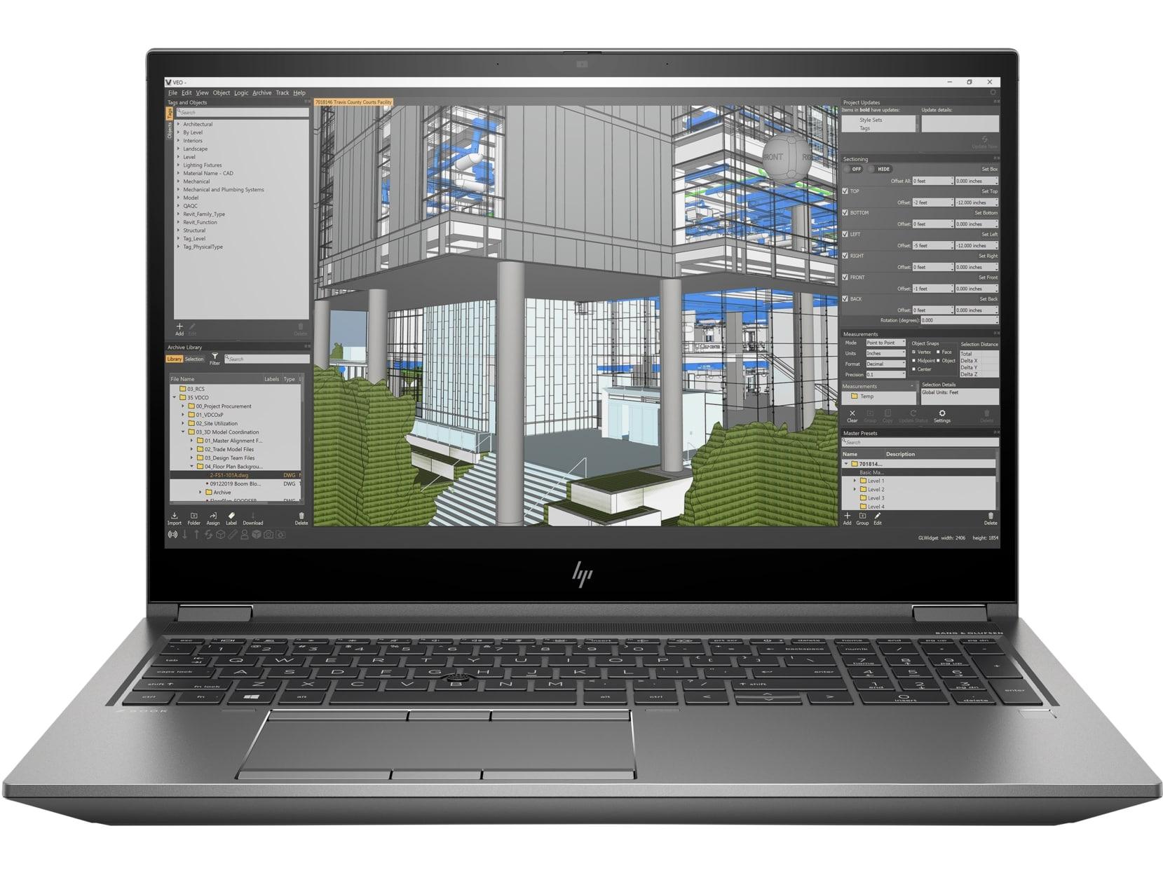 HP ZBook Fury 15 G7 15,6'' FHD 400nts i7-10750H/16GB/512GB PCIe/NVIDIA® Quadro® T1000-4GB/W10P - 119X0EA#BCM