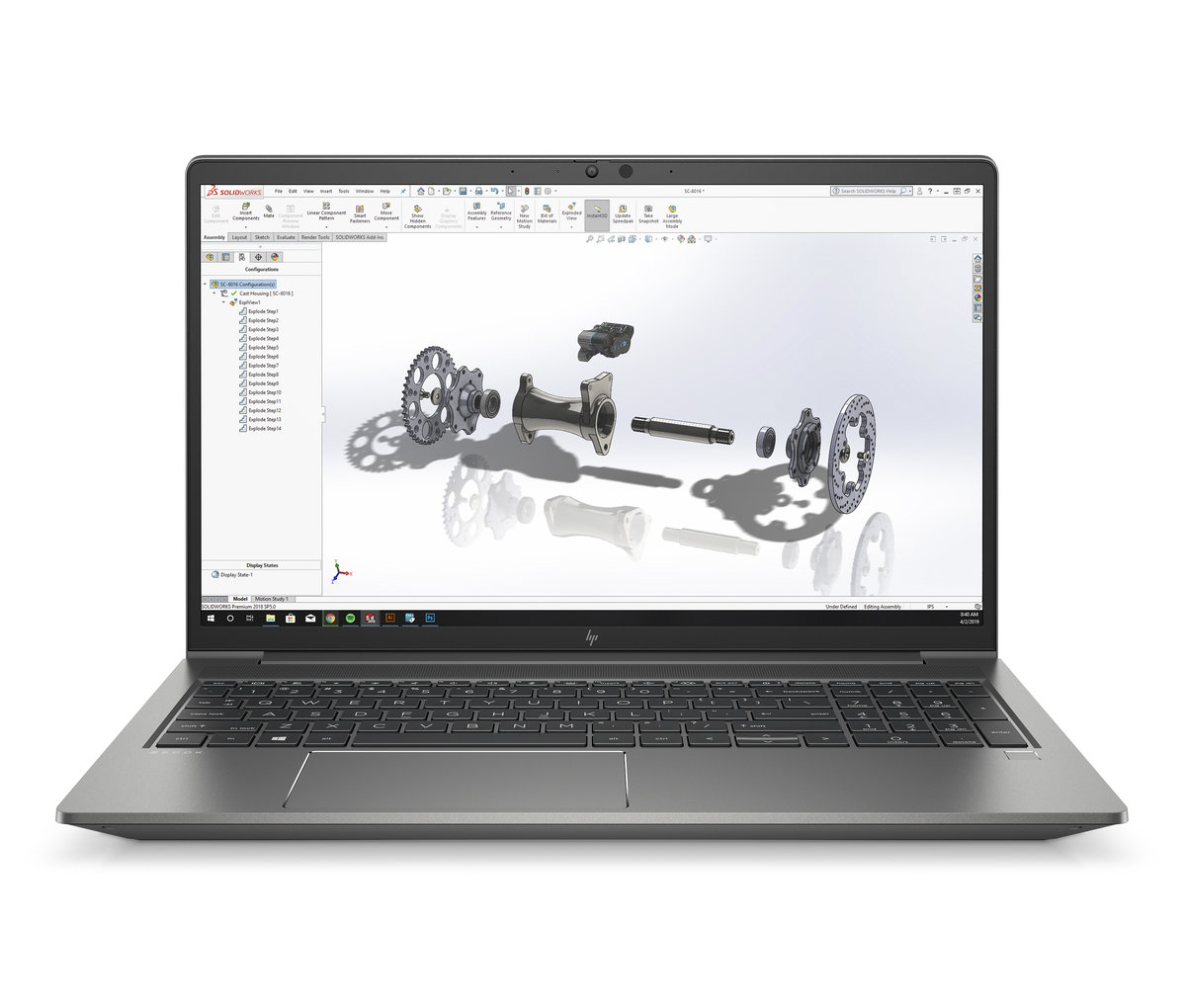 HP Zbook Power G8 15,6'' 400nts i7-11800H/16GB/512SSD/NVIDIA® Quadro® T600-4GB/W10P - 313S5EA#BCM