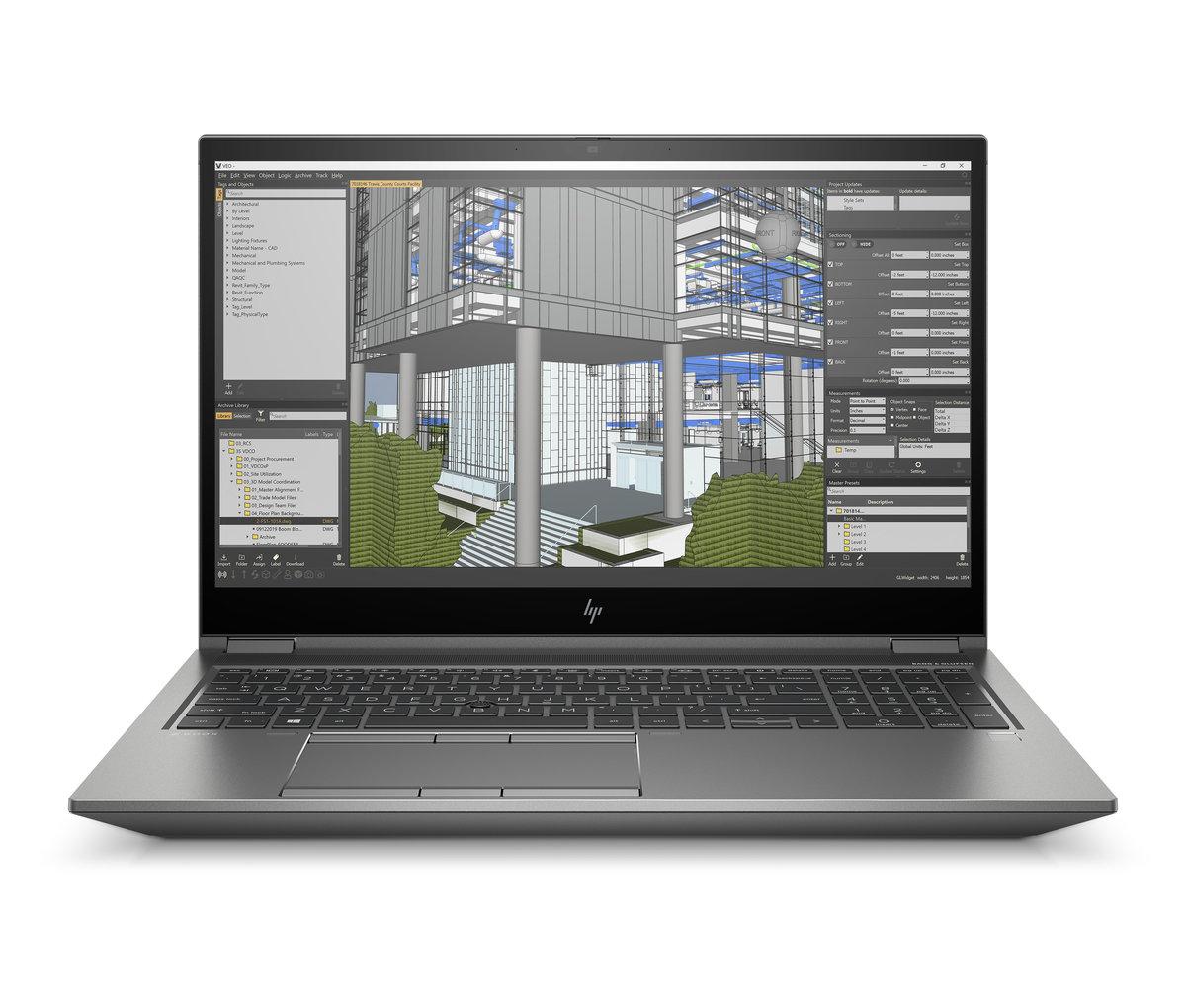 HP ZBook 15 Fury G8 15,6'' 400nts i7-11800H/32GB RAM/1TBM.2 NVMe/Nvidia Quadro RTX T1200-4GB/W10P/3y - 314J2EA#BCM
