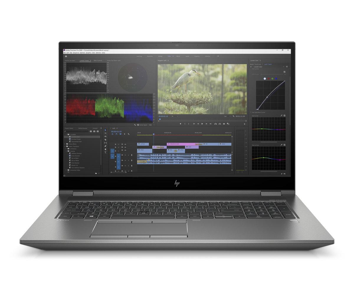 HP ZBook 17 Fury G8 17,3'' 300nts i7-11800H/16GB/512M.2 NVMe/Nvidia Quadro RTX T1200-4GB/W10P/3y - 4A698EA#BCM