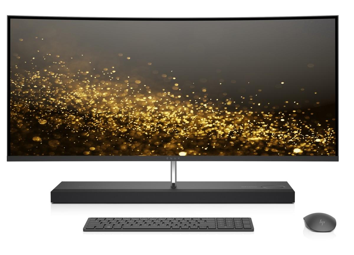 HP Envy 34-b104nc curved WQHD AiO NT i5-8400T/8GB/1TB+256SSD/NV/2RServis/W10