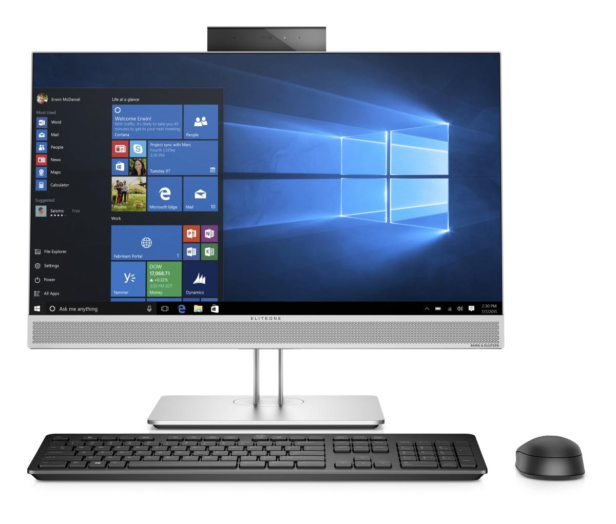 HP EliteOne 800G4 23.8NTi5-8500/8/256/DVD/ATI/W10P