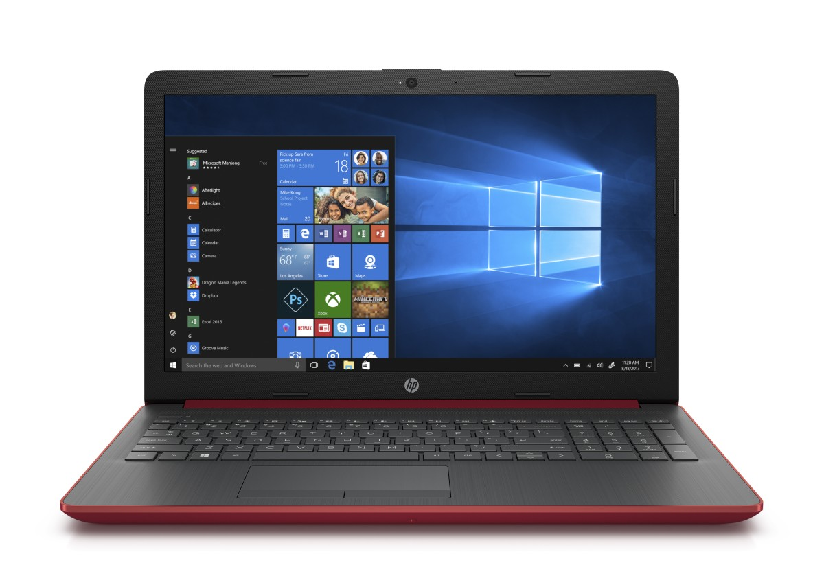 HP 15-da0028nc FHD N5000/8GB/256SSD/NV/DVD/2RServis/W10-red