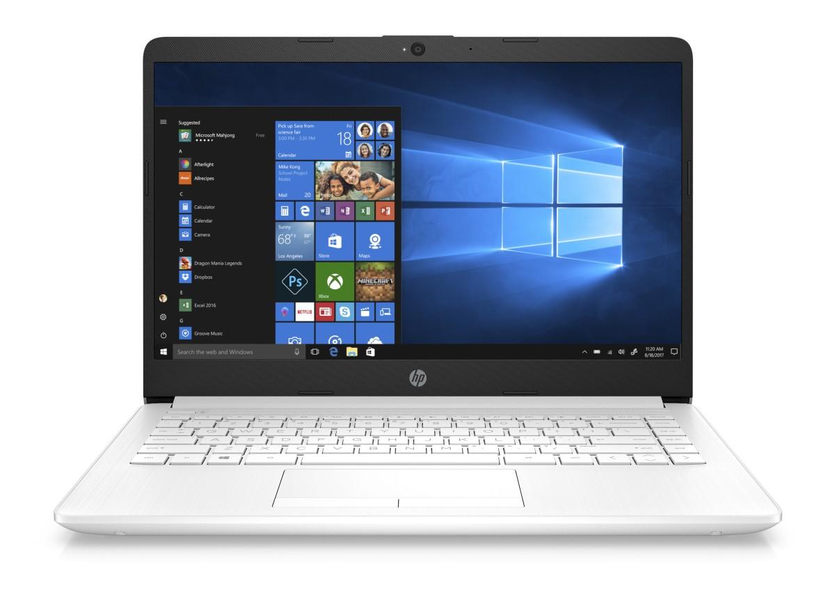 HP 14-cf0015nc N5000/4GB/256SSD/2RServis/W10-white
