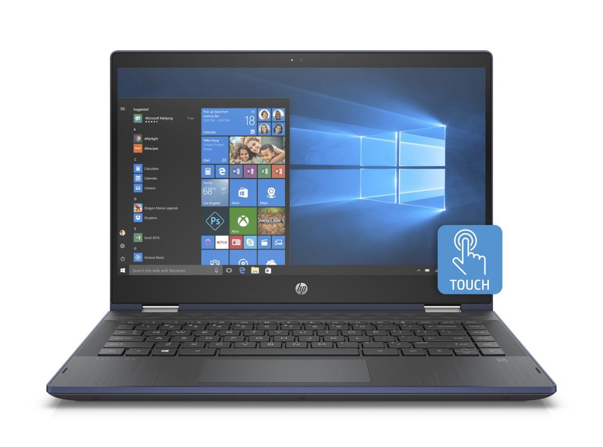 HP Pavilion 14-cd0013nc x360 FHD 4415U /8GB /256SSD /2RServis /W10-blue
