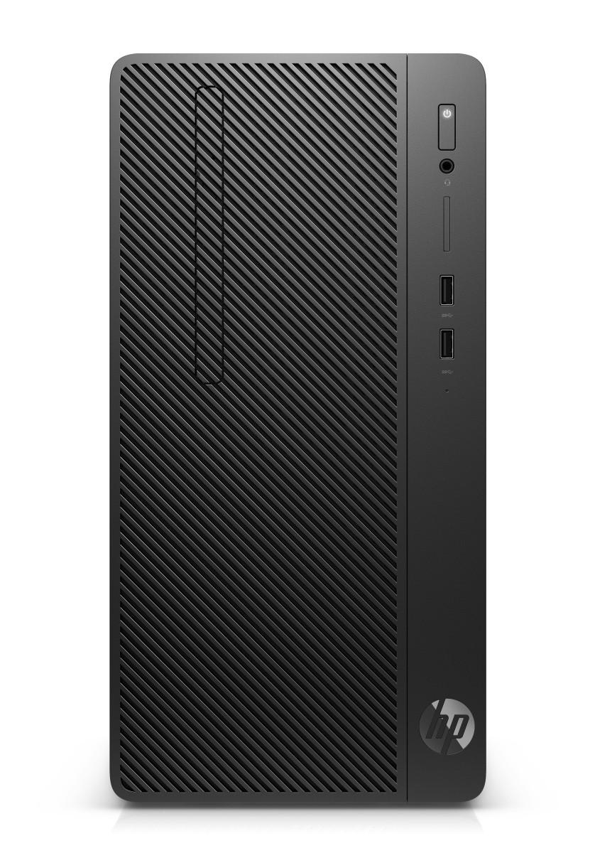 HP 290 G2 MT i3-8100/4GB/128SSD/DVD/W10P