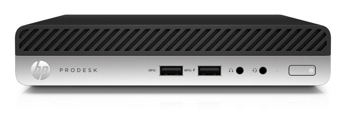 HP ProDesk 400 G4 DM/i3-8100T/8GB/256SSD/W10P