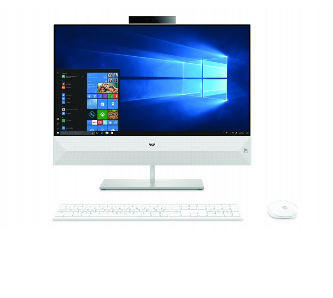 HP Pavilion AiO 24-xa0004nc FHD ryz5-2600U/8GB/1TB+128SSD/2RServis/W10
