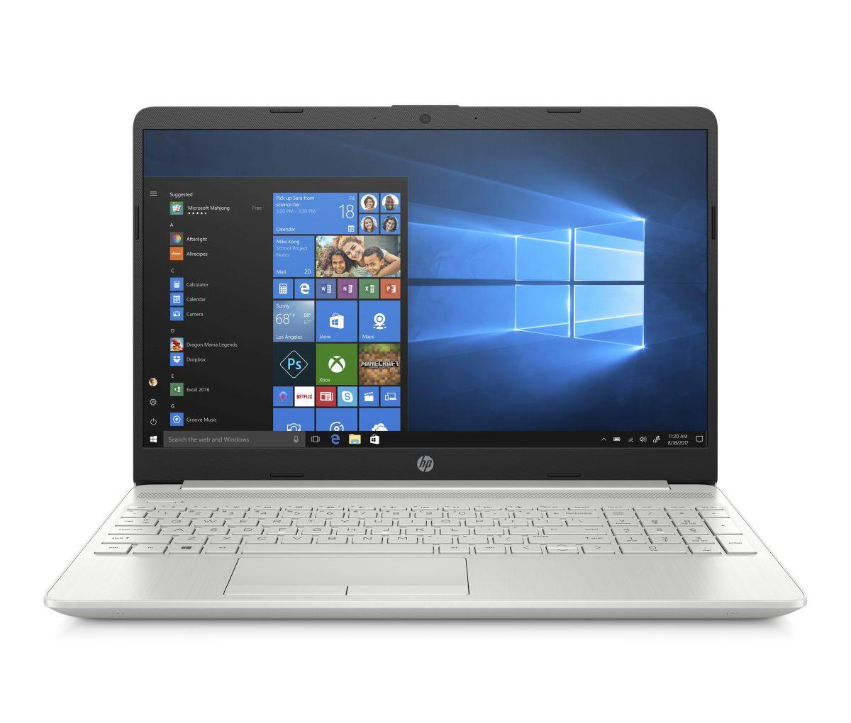 HP 15-dw0000nc FHD 4417U/8GB/256SSD/2RServis/W10-silver