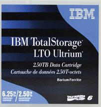 IBM LTO6 Ultrium 2,5/6,25TB - 00V7590