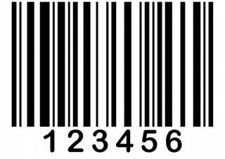 50ks, Štítek s čárovým kódem - 3592 CLN