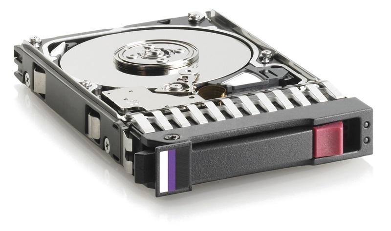 HP MSA 2TB 12G SAS 7.2K 2.5in 512e HDD