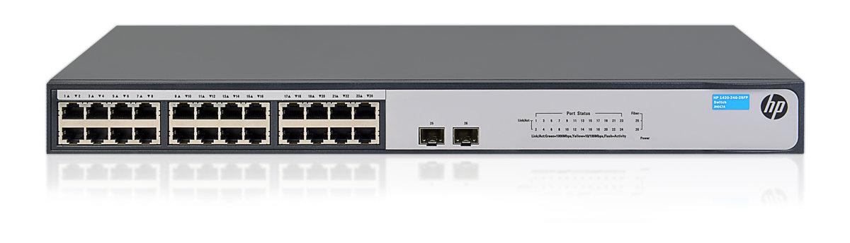 HPE 1420 24G 2SFP Switch