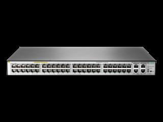 HPE 1850 48G 4XGT PoE+ 370W Switch