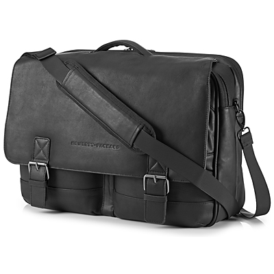 HP Executive Leather Messenger 14