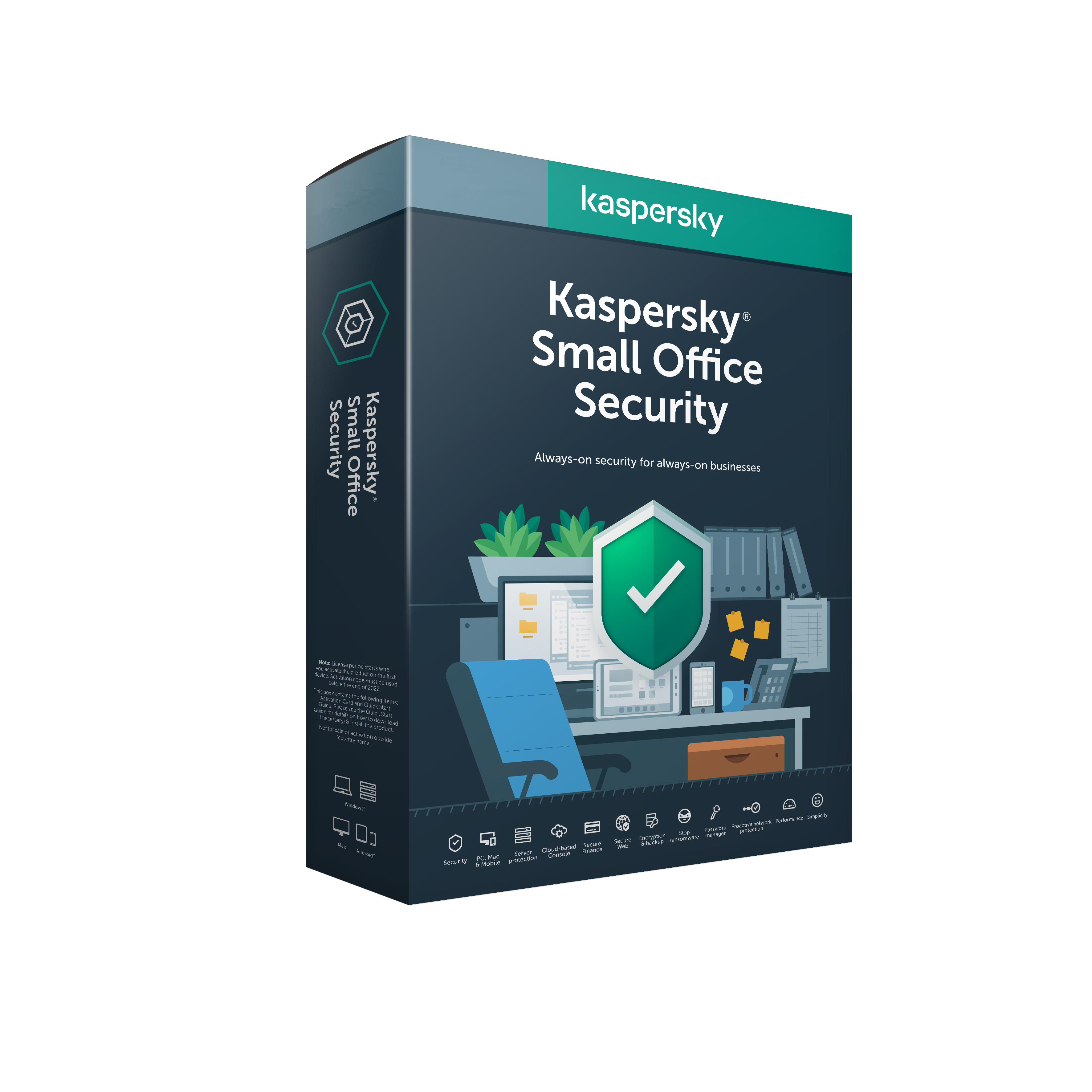 ESD Kaspersky Small Office 10-14 licencí 2 roky Obnova - KL4542OAKDR