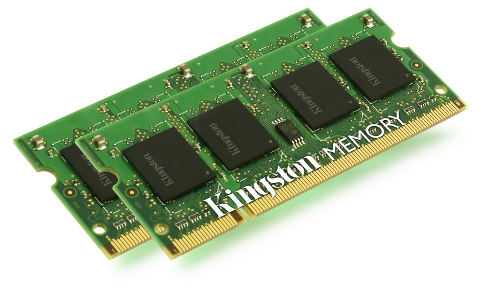 2GB 667MHz DDR2 SO-DIMM kit pro Apple, 2x1GB
