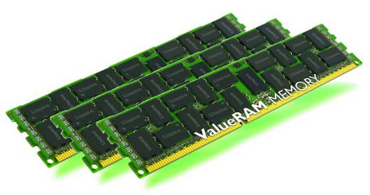 48GB 1333MHz Reg ECC QR x8 Low Voltage HP, 3x16GB