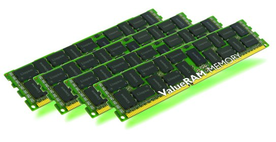 64GB 1600MHz DDR3 ECC Reg kit pro HP/Compaq 4x16GB