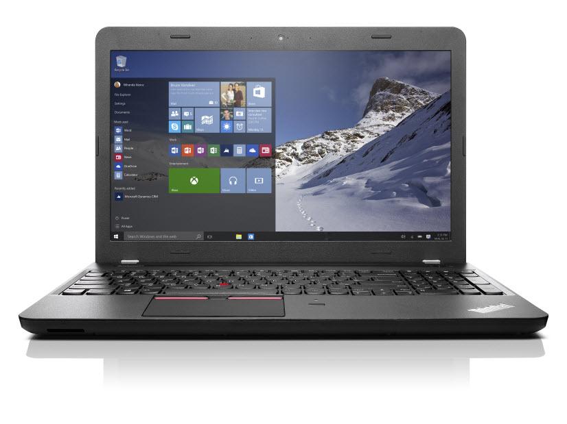 ThinkPad E560 15.6 HD / i3-6100U / 4GB / 500GB / HD / DVD / B / F / Win 7 Pro + 10 Pro