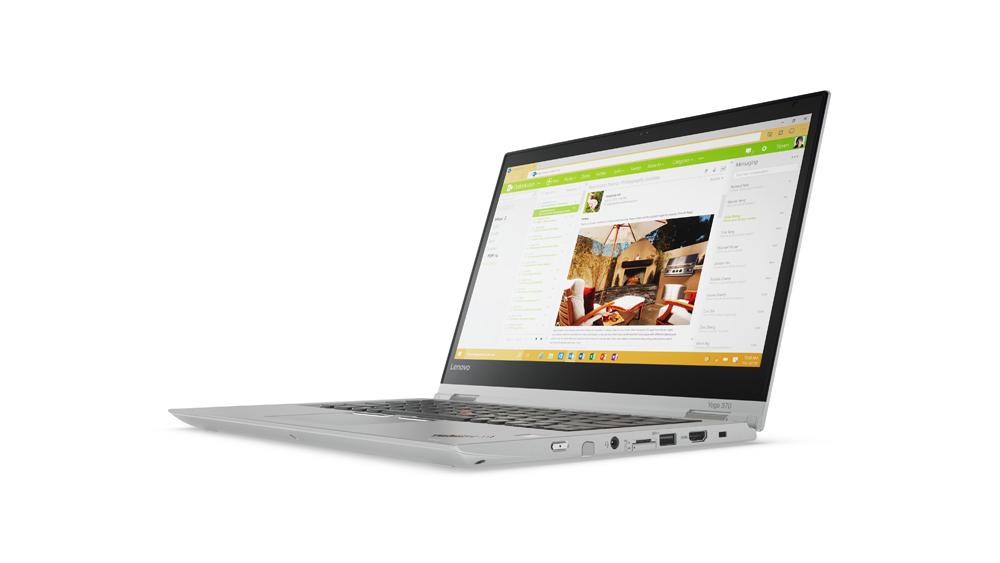 """20JH003CMC Lenovo TP Yoga 370 13,3""""/i7-7600UvPro/8GB/512SSD/INT/W10P/Stříbrná"""