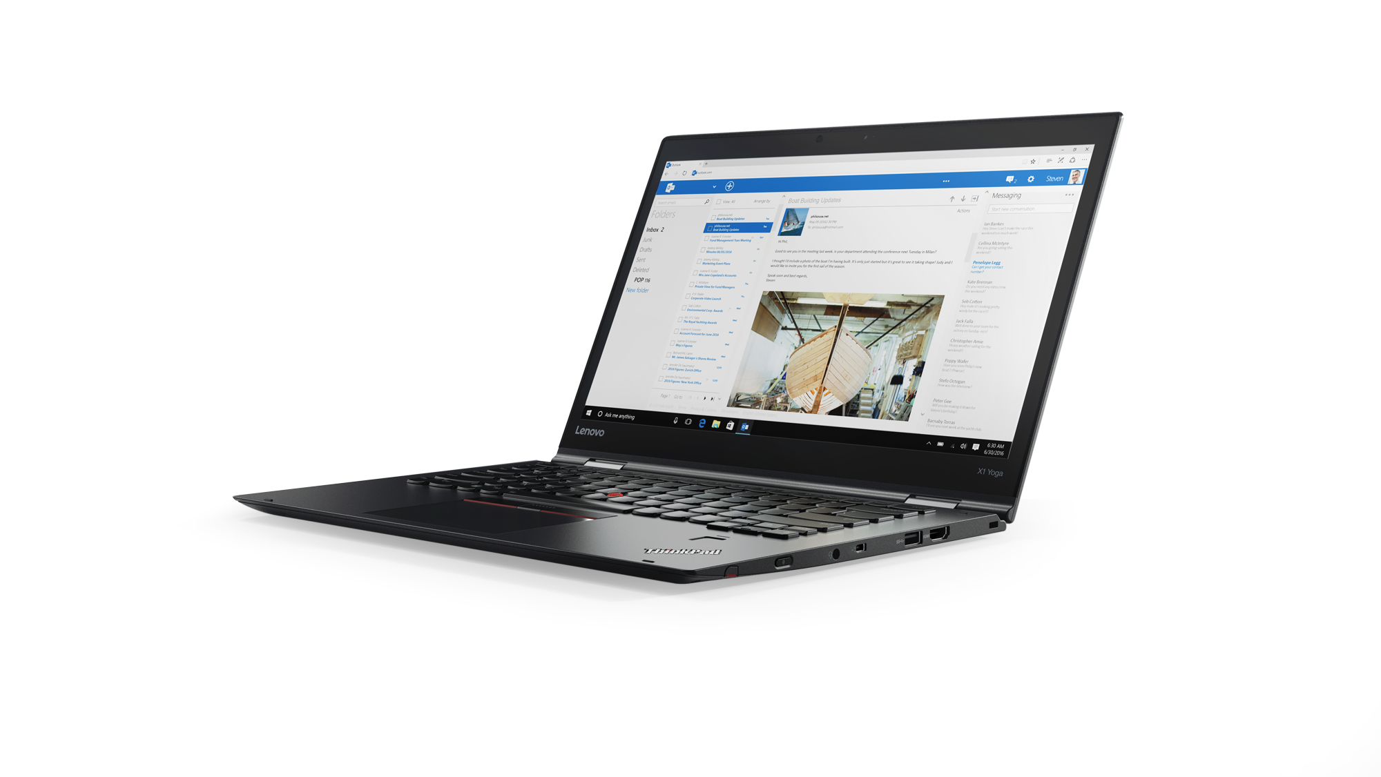 Lenovo Thinkpad X1 Yoga 3 14WQHD/i5-8250U/8G/256SSD/4G/W10P/černý