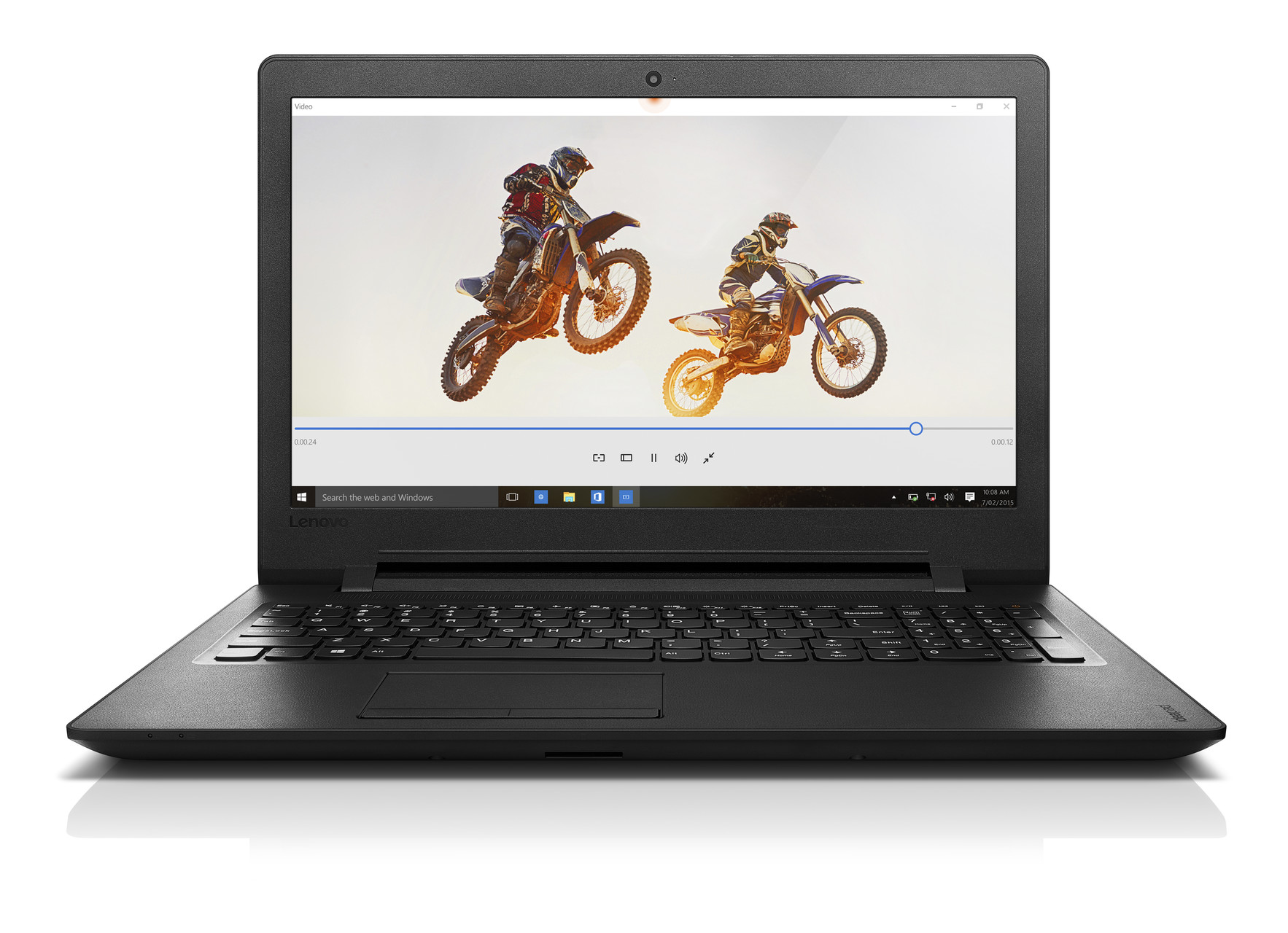 """Lenovo IdeaPad 110 15.6""""HD/N3710/500+8/4G/INT/DVD/W10"""