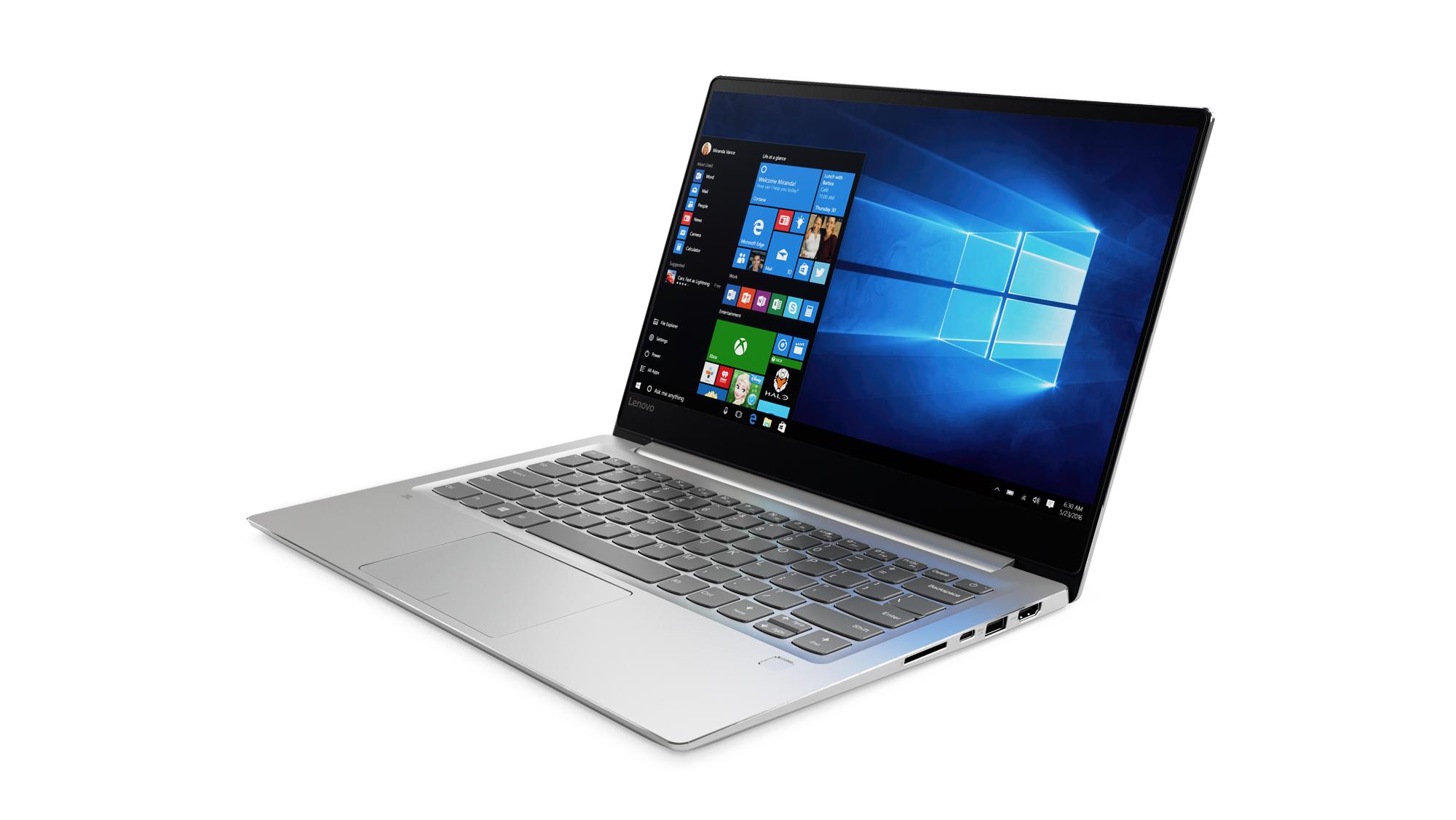 80XC0013CK Lenovo IdeaPad 720S-14IKB 14.0 FHD IPS AG/i5-7200U/8G/256G/NV2G/W10H/Backlit/Stříbrná