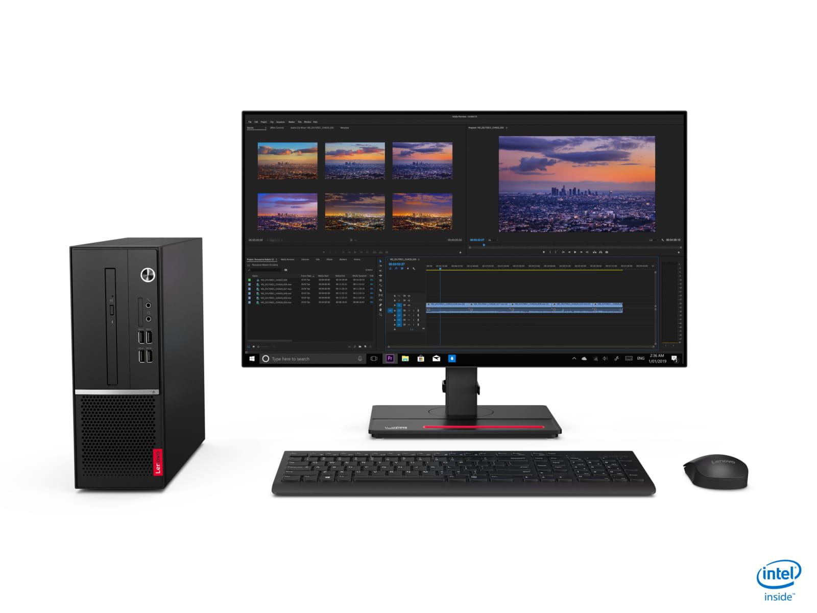 Lenovo V530 SFF/i3-9100/256/8GB/HD/DVD/W10P
