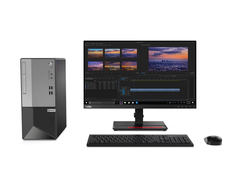 Lenovo TC V50t i3-10100/4GB/256GB/SSD/INT/DVD-RW/No OS